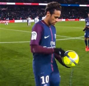 خلاصه بازی پاریس سن ژرمن 8 - دیژون 0 (پوکر نیمار)