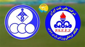 خلاصه بازی پارس جنوبی جم 1 - استقلال خوزستان 1