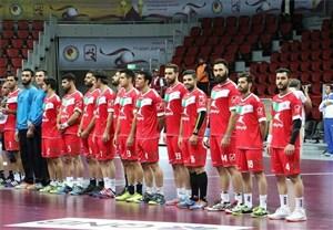 حواشی مسابقات هندبال قهرمانی آسیا ایران - ازبکستان