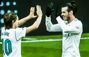 گل چهارم رئال مادرید به لاکرونیا (لوکا مودریچ)
