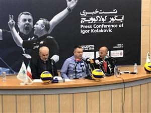 کولاکوویچ: از بازی جلوی تماشاگرانی ایرانی خوشحالم
