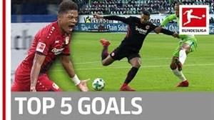 5 گل برتر این هفته بوندسلیگا (04-11-96)