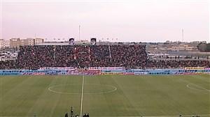 حال و هوای استادیوم شهرقدس و ترکیب پیکان - پرسپولیس