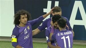خلاصه بازی العین امارات 2 - الهلال عربستان 1 (حذف الهلال)