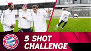 چالش 5 شوت توماس مولر