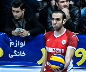 خلاصه والیبال شهرداری تبریز 3 - بانک سرمایه 1