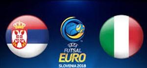 خلاصه فوتسال صربستان 1 - ایتالیا 1