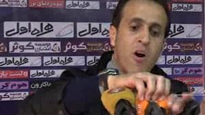 صحبت های جنجالی علی کریمی پس از بازی با استقلال خوزستان