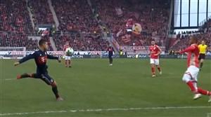 گل فوق العاده خامس رودریگز ( ماینتس 0 - بایرن مونیخ 2 )