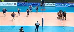 خلاصه بازی شهرداری ارومیه 3 - سایپا 1