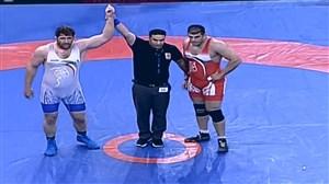 قهرمانی پرویز هادی در وزن 125 کیلوگرم(جام پهلوان تختی)