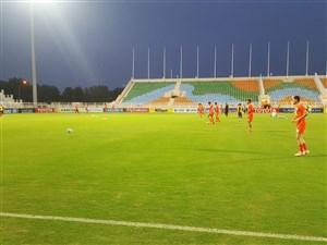 برگزاری آخرین تمرین تراکتور قبل از دیدار با الاهلی عربستان در ورزشگاه السیب مسقط