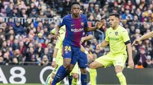 فرصت 48 ساعته بارسلونا به منچستریونایتد
