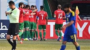 خلاصه بازی لوکوموتیو تاشکند 5 - الوحده امارات 0