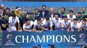 بمناسبت قهرمانی مقتدرانه تیم ملی فوتسال ایران در آسیا