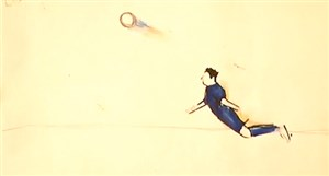 ترکیب هنر نقاشی و فوتبال !