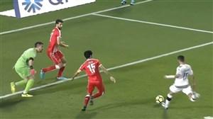 خلاصه بازی السد 5 - العربی 1