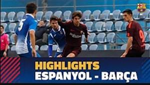 خلاصه بازی نوجوانان بارسلونا 1 - اسپانیول 1