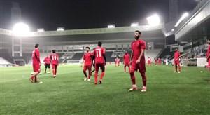 آخرین تمرین پرسپولیس قبل از دیدار با السد قطر