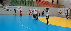 نماینده هندبال بانوان ایران در آستانه قهرمانی غرب آسیا