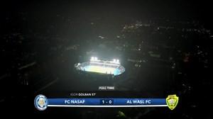 خلاصه بازی نسف قارشی 1 - الوصل امارات 0