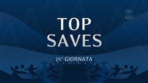 سیوهای برتر هفته 25 سری آ ایتالیا