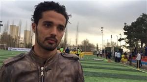 صحبت های امیدنورافکن در کمپ استعدادیابی فوتبال