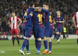 ترکیب اصلی لاس پالماس و بارسلونا اعلام شد