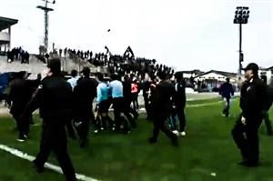 حواشی بازی ملوان - نفت مسجدسلیمان
