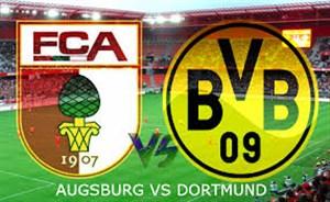 خلاصه بازی دورتموند 1 - آگزبورگ 1