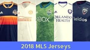 پیراهن جدید تیم های لیگ MLS در سال 2018