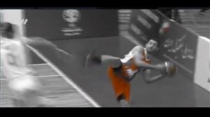 حواشی مسابقه بسکتبال ایران - عراق