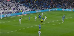 گل دوم رئال مادرید به ختافه (رونالدو)