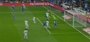 گل سوم رئال مادرید به ختافه (رونالدو)
