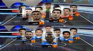 نمرات بازیکنان استقلال و پرسپولیس در داربی ٨٦