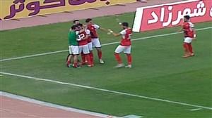 گل سوم خونهبهخونه به استقلال خوزستان