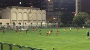 اولین تمرین پرسپولیس در باشگاه ایرانیان دبی