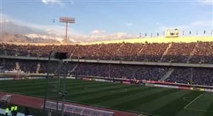 تکمیل ظرفیت استادیوم آزادی ( استقلال-العین)