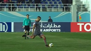 خلاصه بازی لوکوموتیو تاشکند 1 - الدحیل قطر 2