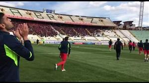 وضعیت استادیوم یادگار امام قبل از بازی تراکتور الجزیره