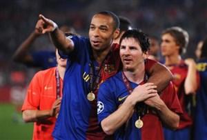 برترین لحظات تیری آنری در لباس بارسلونا