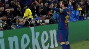 گل سوم بارسلونا به چلسی (لیونل مسی)