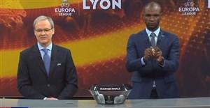 مراسم قرعه کشی یک چهارم نهایی لیگ اروپا 2018