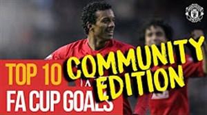 10 گل برتر منچستریونایتد در جام حذفی