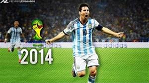 نگاهی به عملکرد مسی در جام جهانی 2014