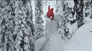 صحنه های جذاب و هیجان انگیز اسکی رو برف