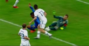 گل دوم برزیل به روسیه ( کوتینیو)