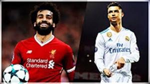 مقایسه محمد صلاح و کریستیانو رونالدو در بازی دیشب