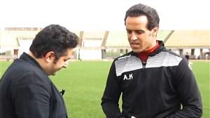 گفتگوی کوتاه نوروزی با علی کریمی