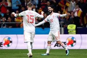 حرکات دیدنی ایسکو در تیم ملی اسپانیا و رئال مادرید